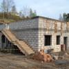 Budowa przy GOK w Sulęczynie